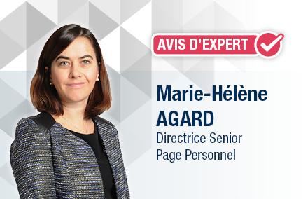 Marie-Hélène Agard, directrice des recrutements sur les métiers de la Banque chez Page Personnel.