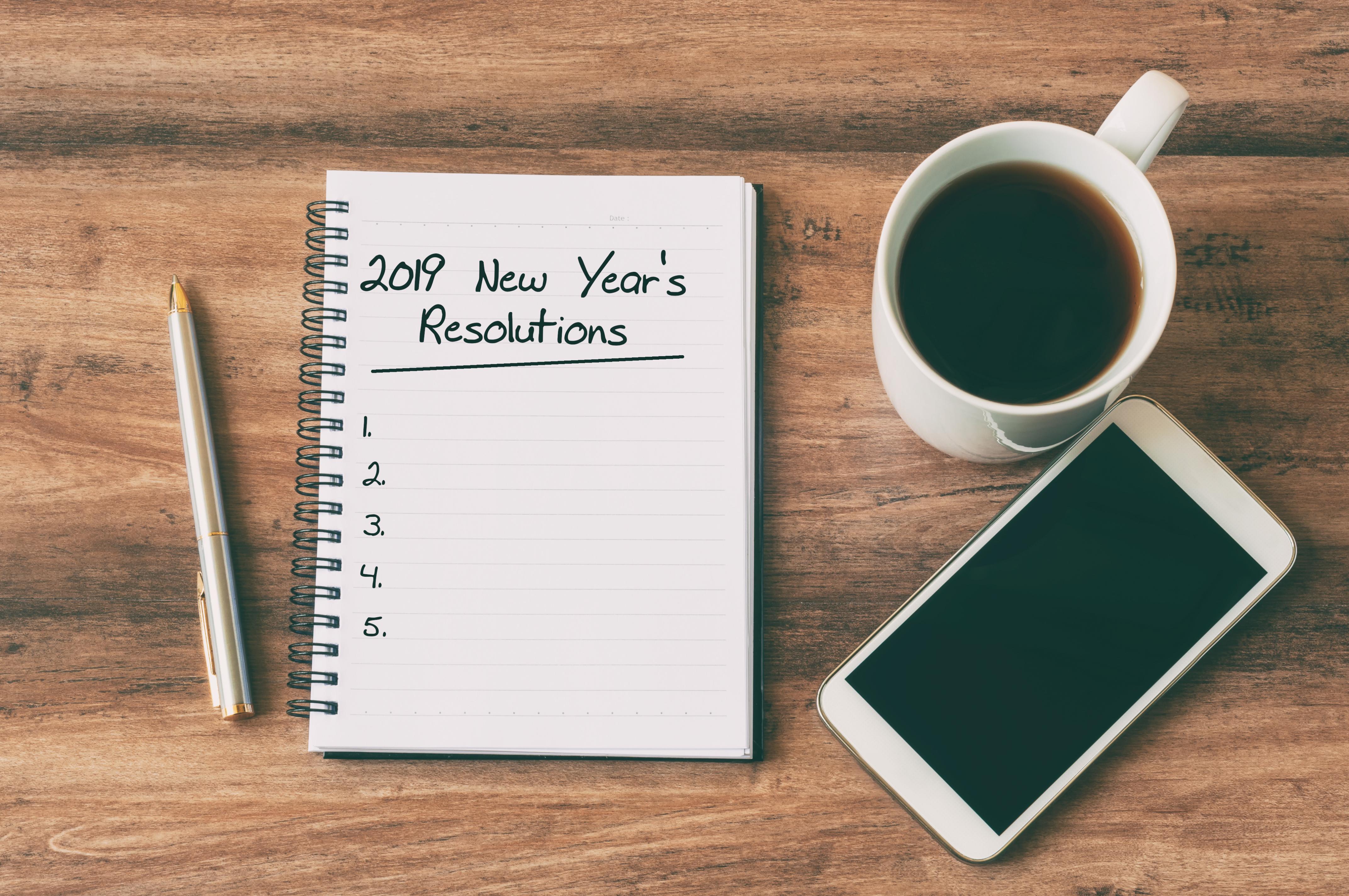 5 bonnes résolutions professionnelles pour (ré)enchanter son travail en 2019 !  [nid:1961111]